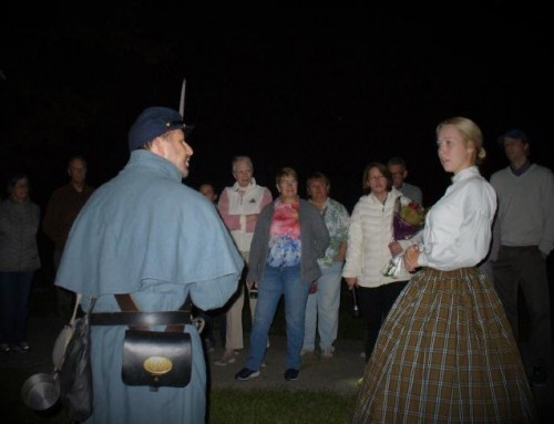 A sell out crowd enjoyed this year's Ghost Tour!